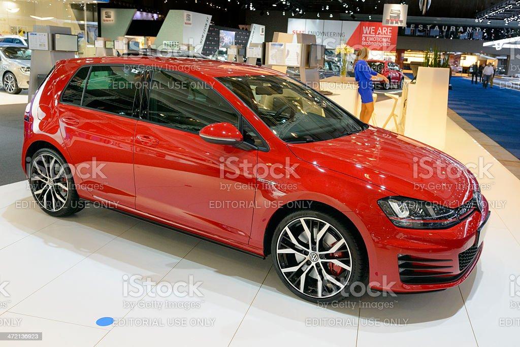 Volkswagen Golf GTI stock photo
