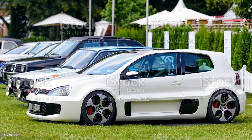Volkswagen Golf GTI W12 Concept stock photo