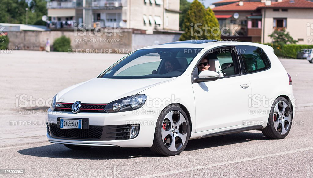 Volkswagen Golf VI stock photo