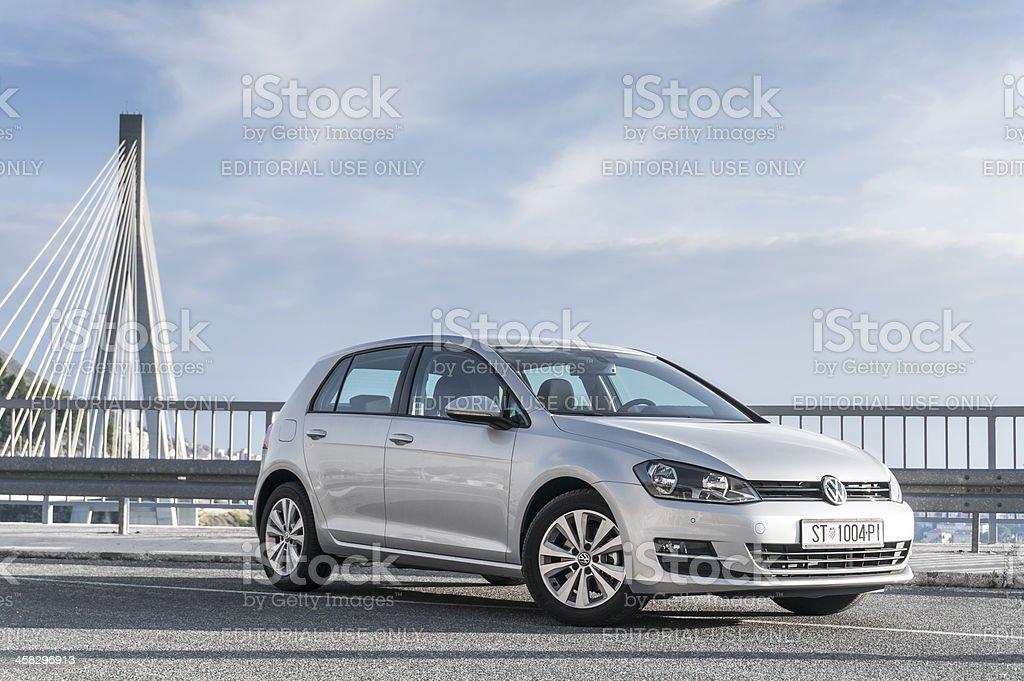 Volkswagen Golf VII stock photo