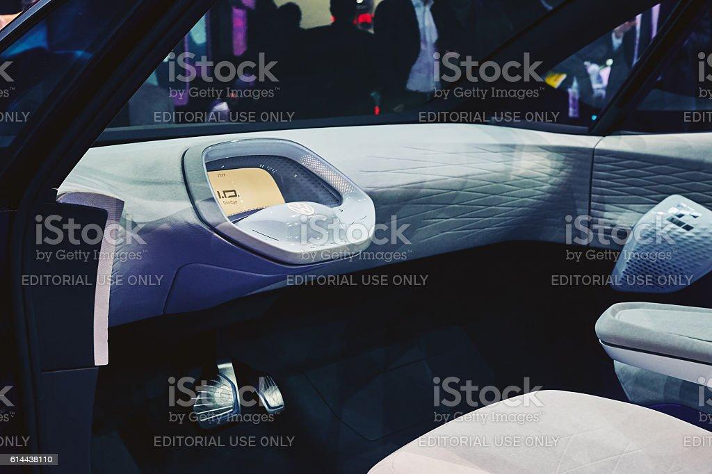 2016 Volkswagen I.D. Concept stock photo