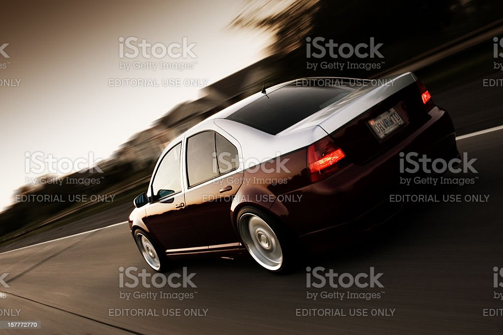 Volkswagen Jetta royalty-free stock photo