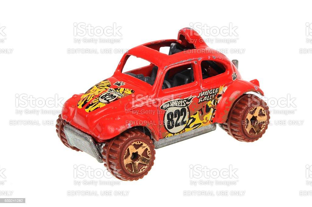 1983 Volkswagen Jungle Rally Baja Beetle Hot Wheels Diecast Car stock photo