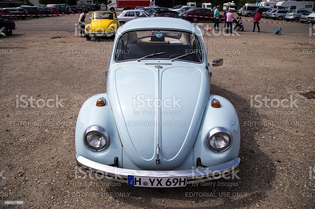 Volkswagen Kaefer Meeting in Celle, Germany stock photo