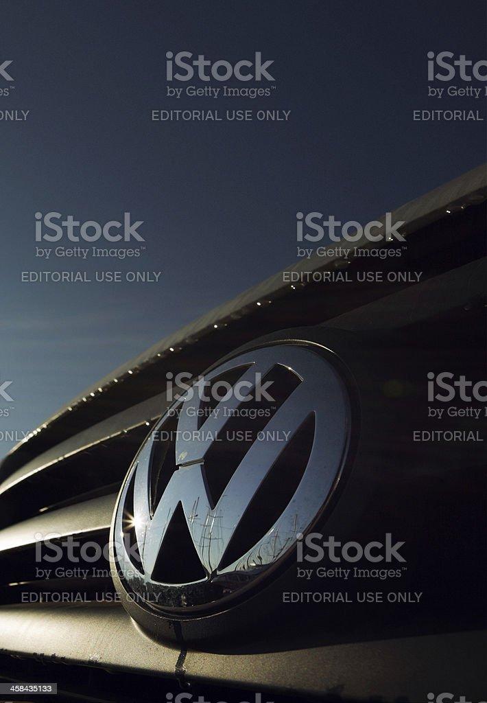 VolksWagen Logo stock photo