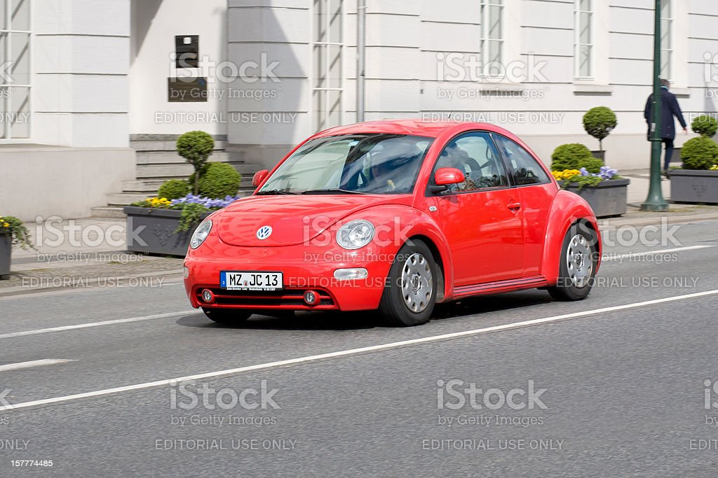 Volkswagen New Beetle stock photo