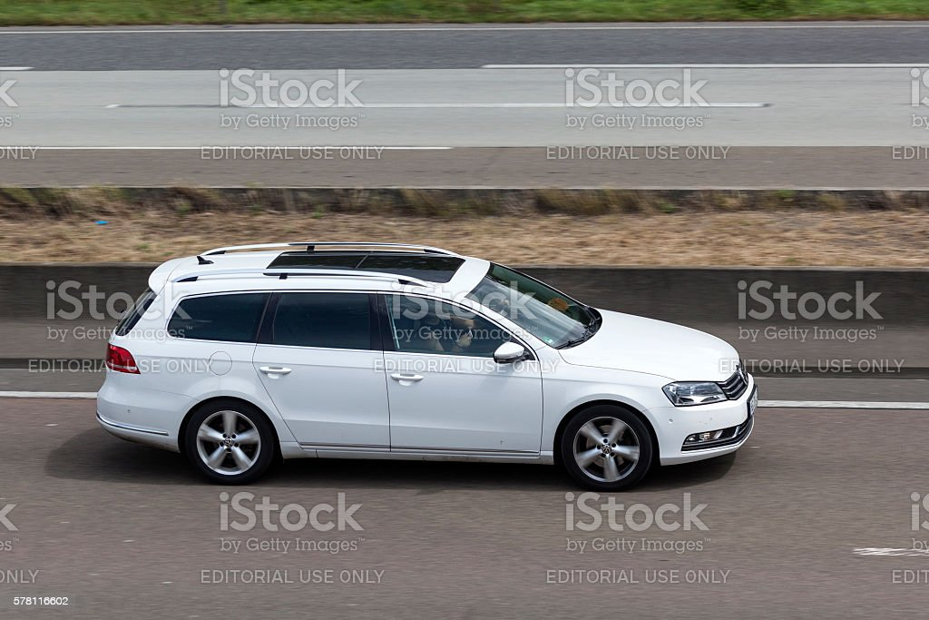 Volkswagen Passat Estate stock photo