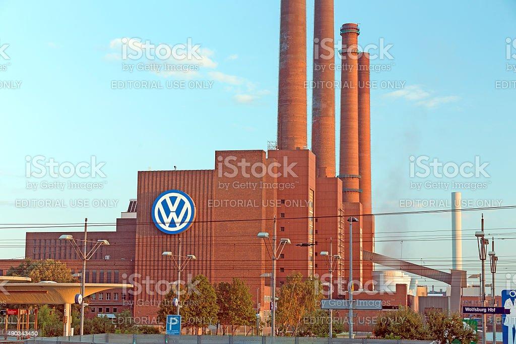 Volkswagen Plant Wolfsburg stock photo