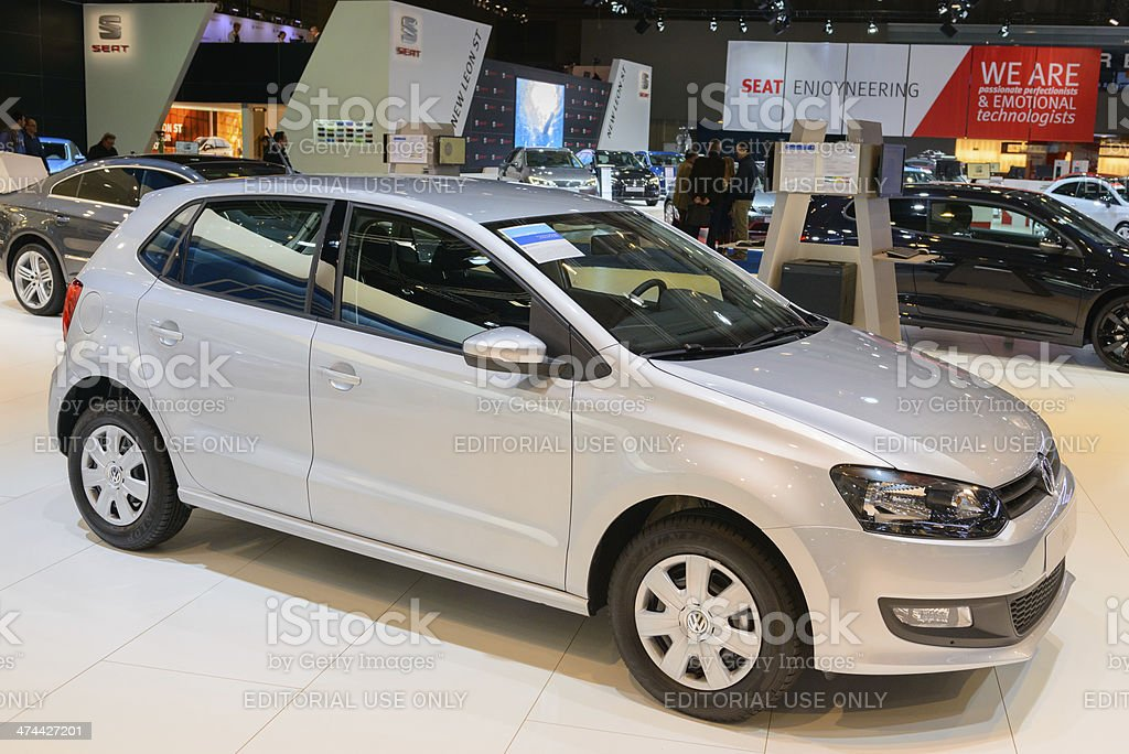 Volkswagen Polo royalty-free stock photo