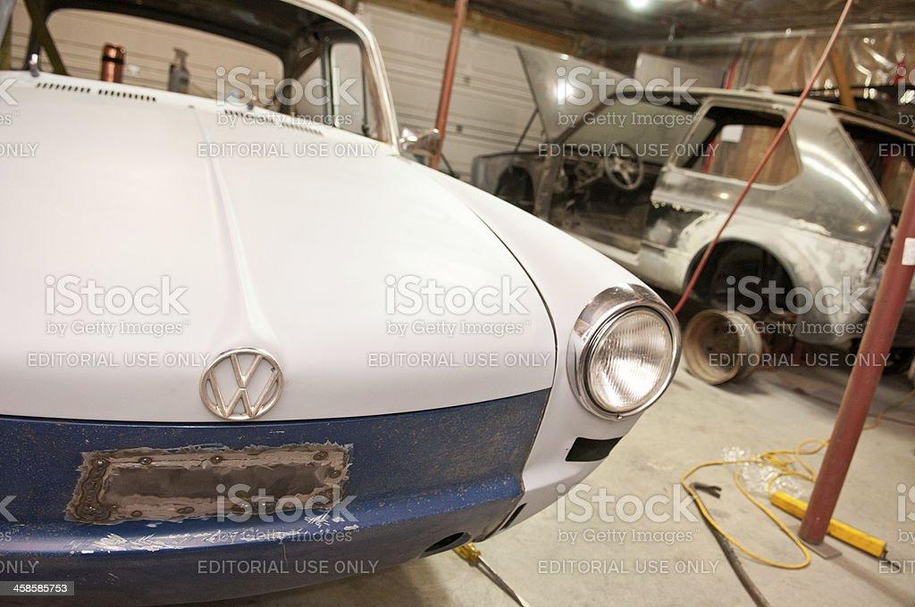 Volkswagen Restoration stock photo