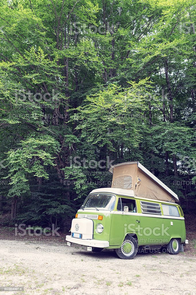 Volkswagen Samba T1 stock photo