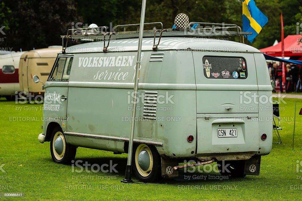 Volkswagen service car stock photo
