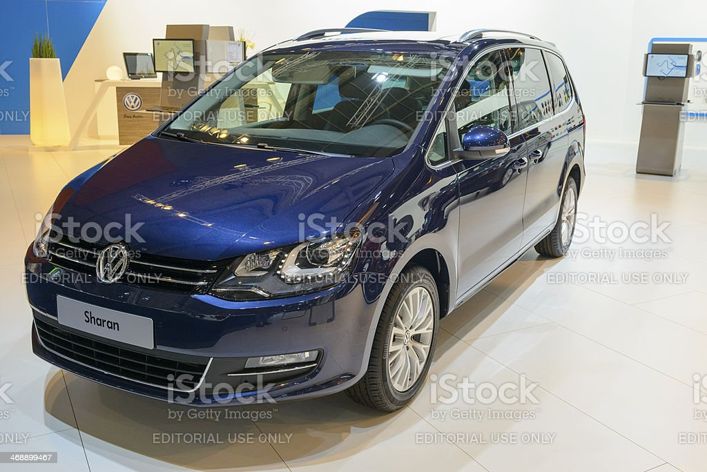 Volkswagen Sharan stock photo