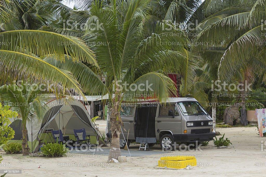 Volkswagen T3 Camper Westfalia royalty-free stock photo