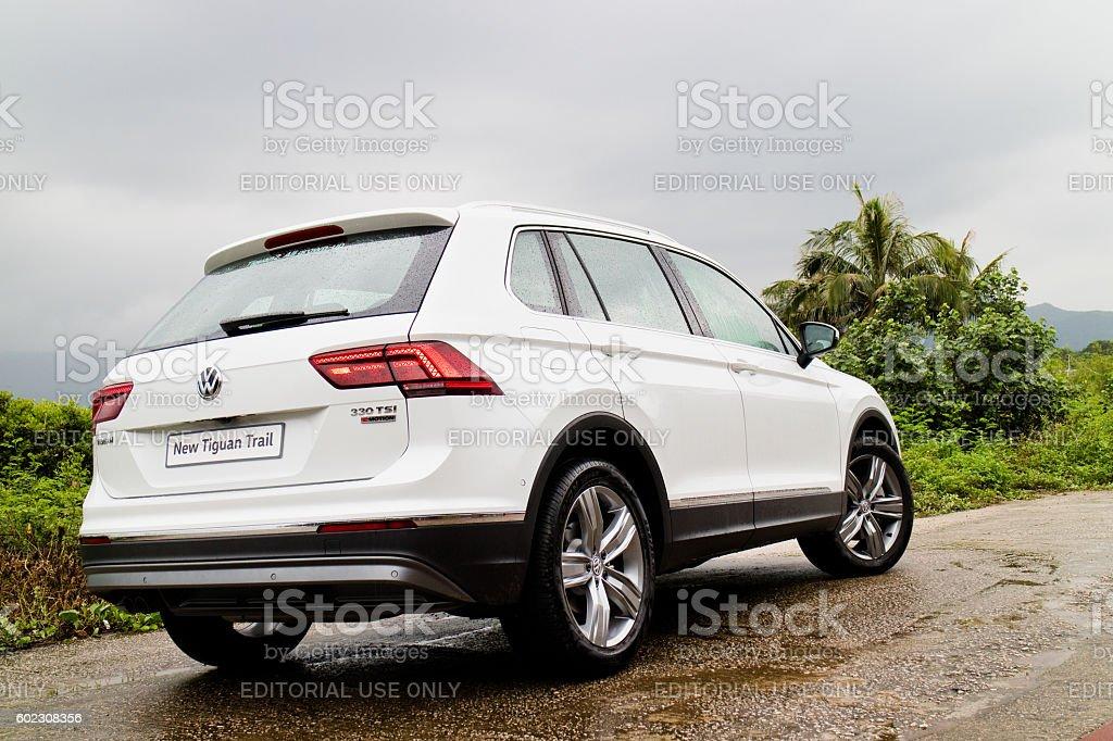 Volkswagen Tiguan 2016 Test Drive Day stock photo