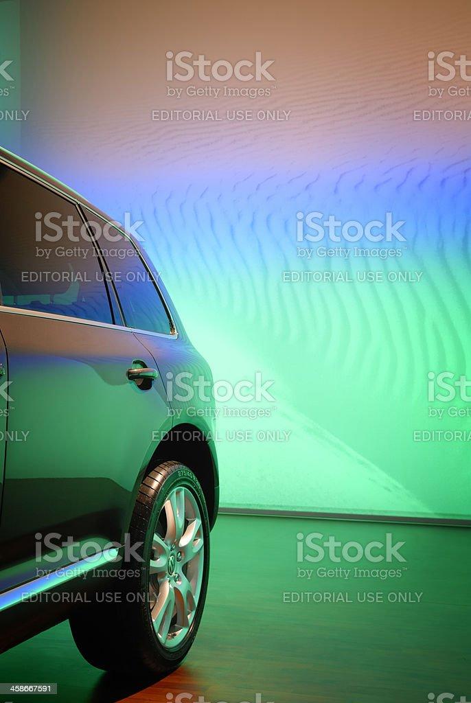Volkswagen Touareg stock photo