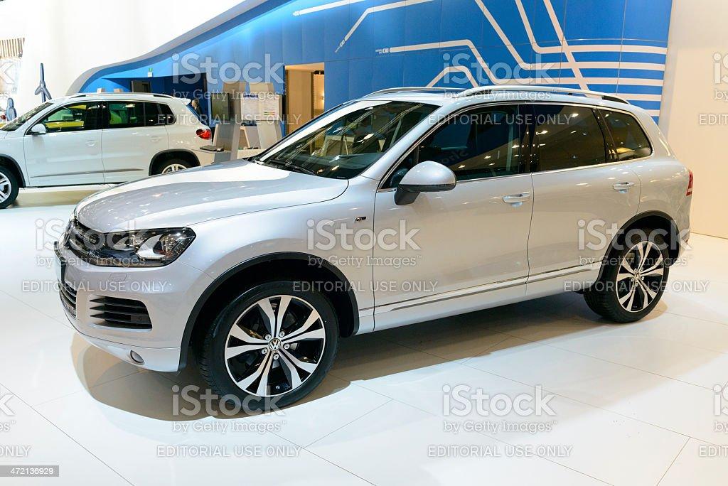 Volkswagen Touareg royalty-free stock photo