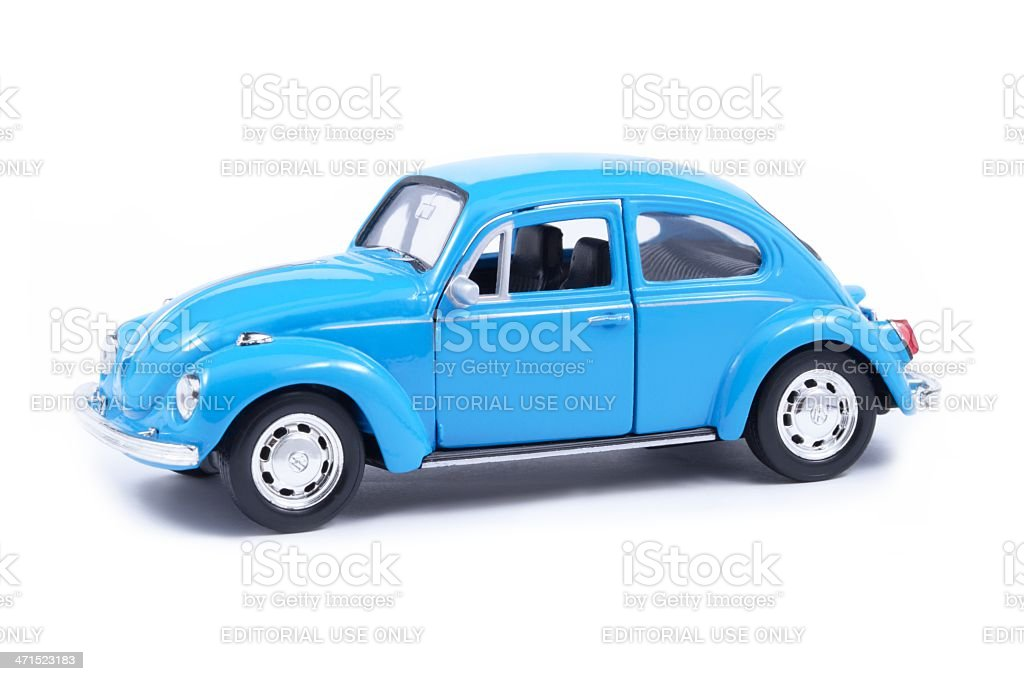 Volkswagen Toy Beetle stock photo