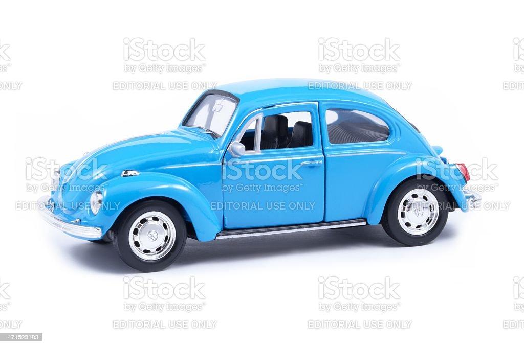 Volkswagen Toy Beetle stock photo