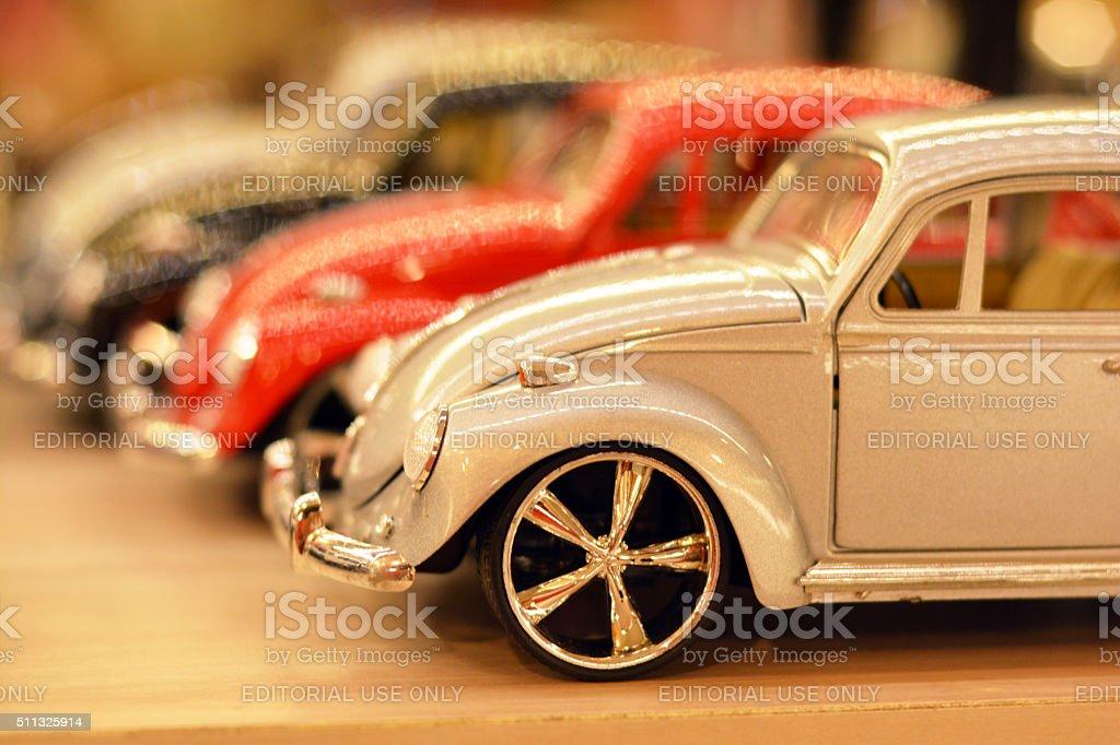 Volkswagen toys stock photo