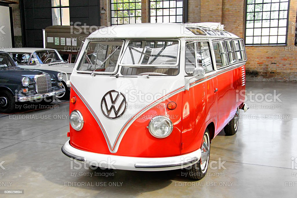 Volkswagen Transporter stock photo
