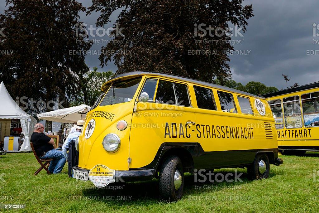 Volkswagen Transporter T1 ADAC roadside rescue van stock photo