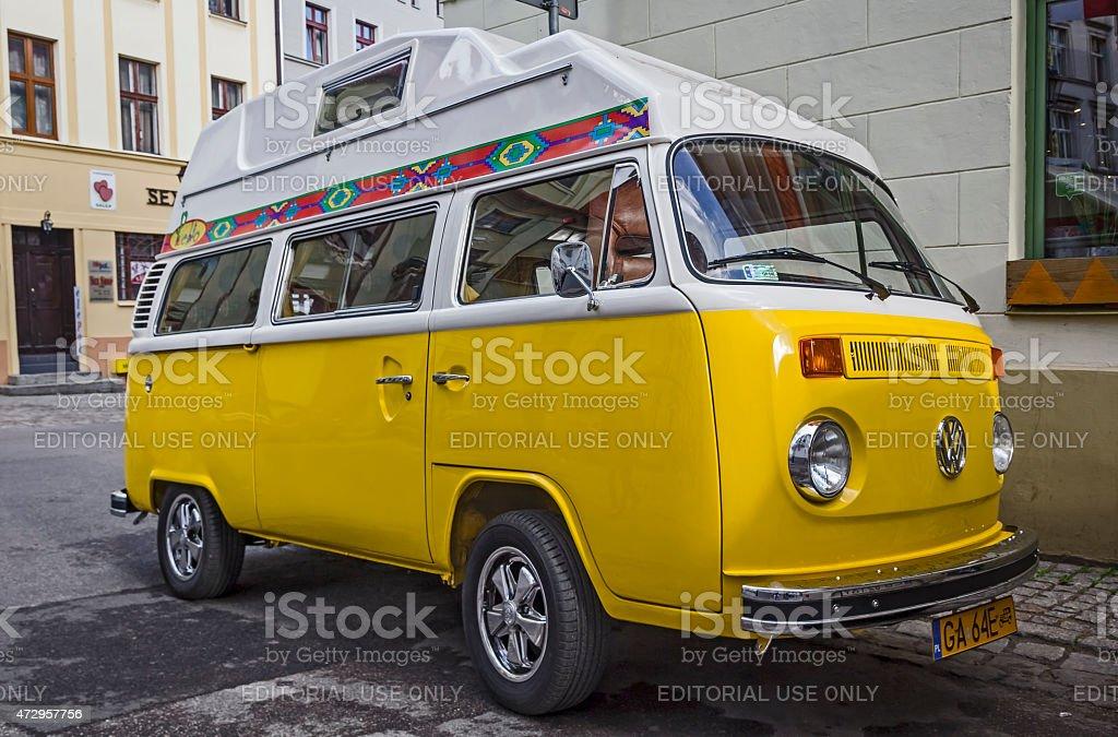 Volkswagen Transporter Type 2 stock photo