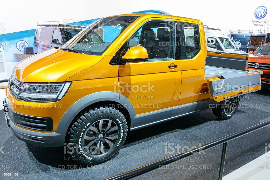 Volkswagen Tristar Concept pick-up stock photo