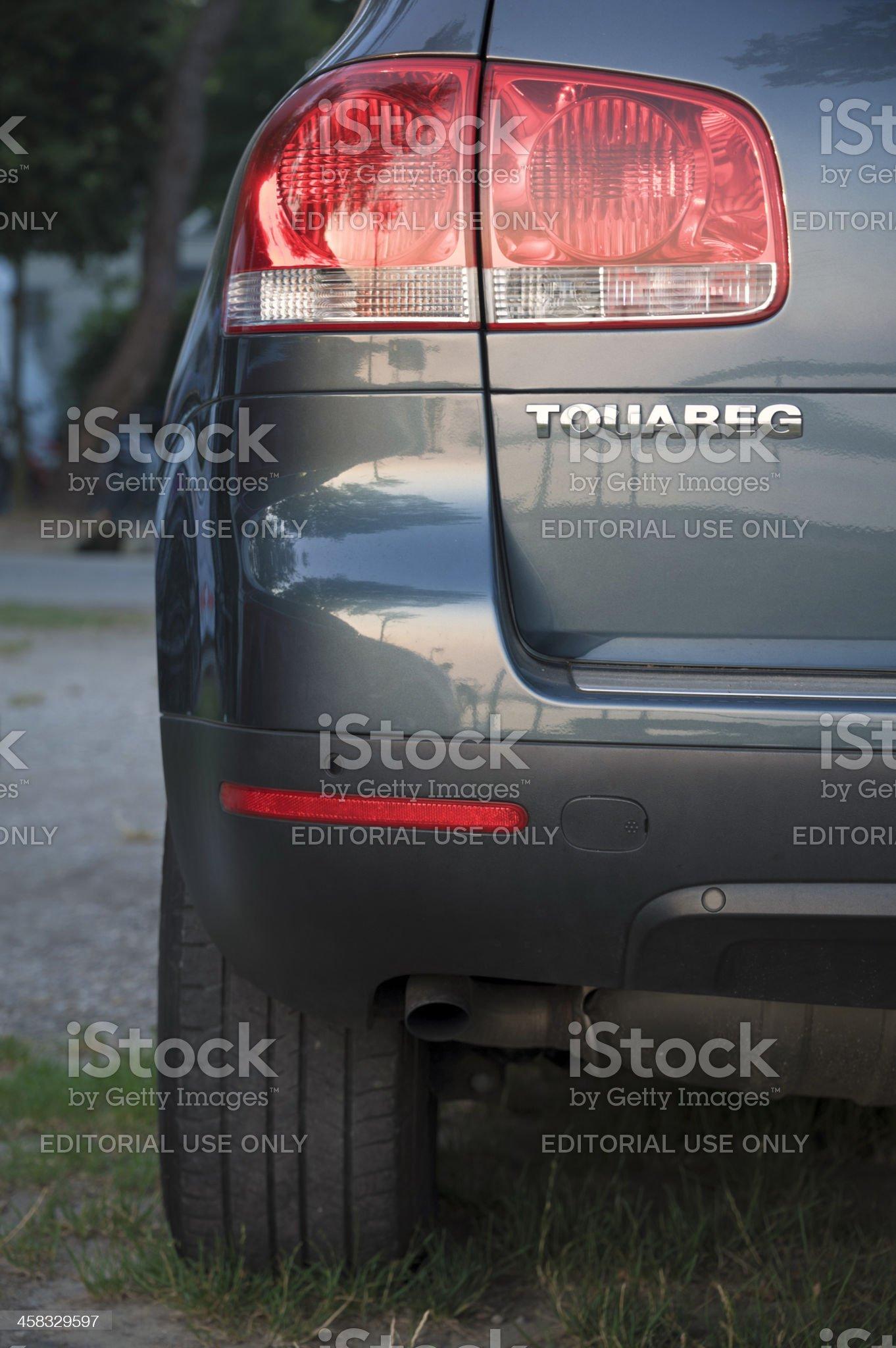 Volkswagen Tuareg royalty-free stock photo