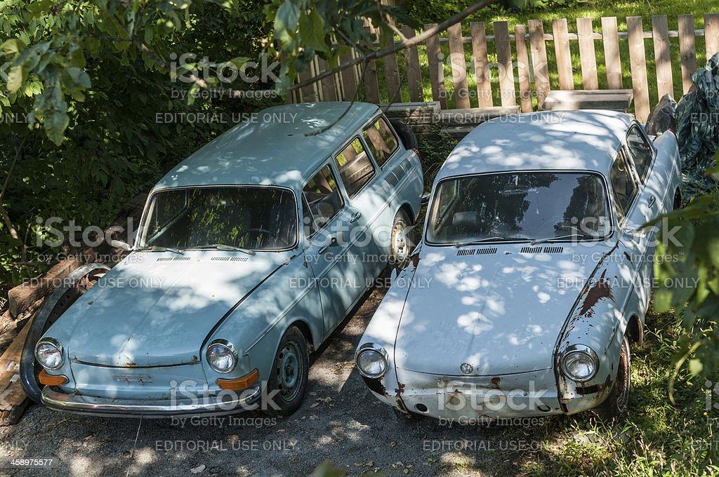 Volkswagen Type 3's stock photo