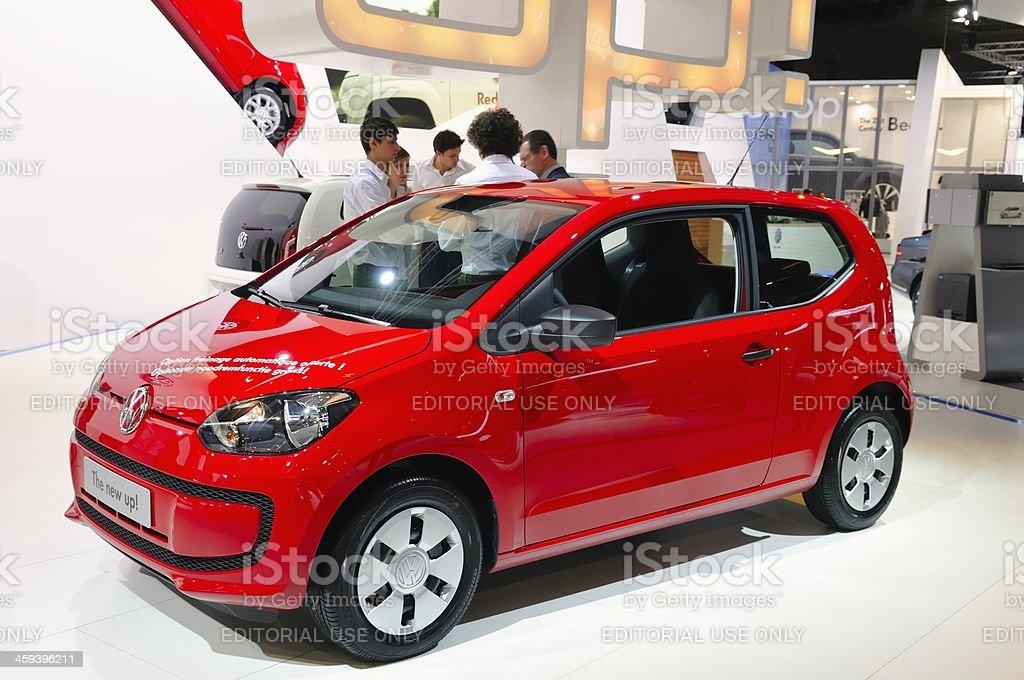 Volkswagen Up royalty-free stock photo