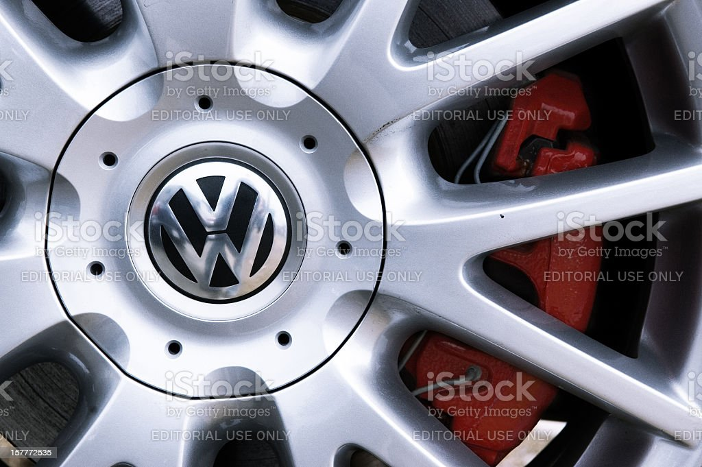 Volkswagen Wheel stock photo