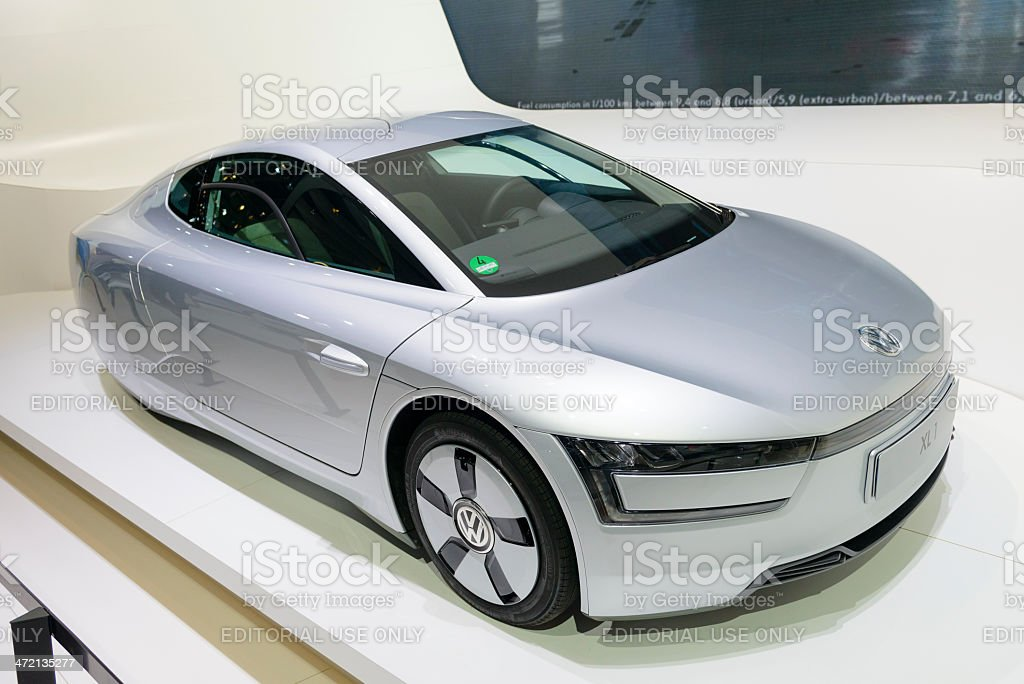Volkswagen XL1 royalty-free stock photo