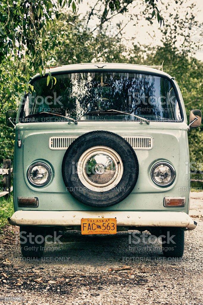 VW Volkswagon Bus stock photo