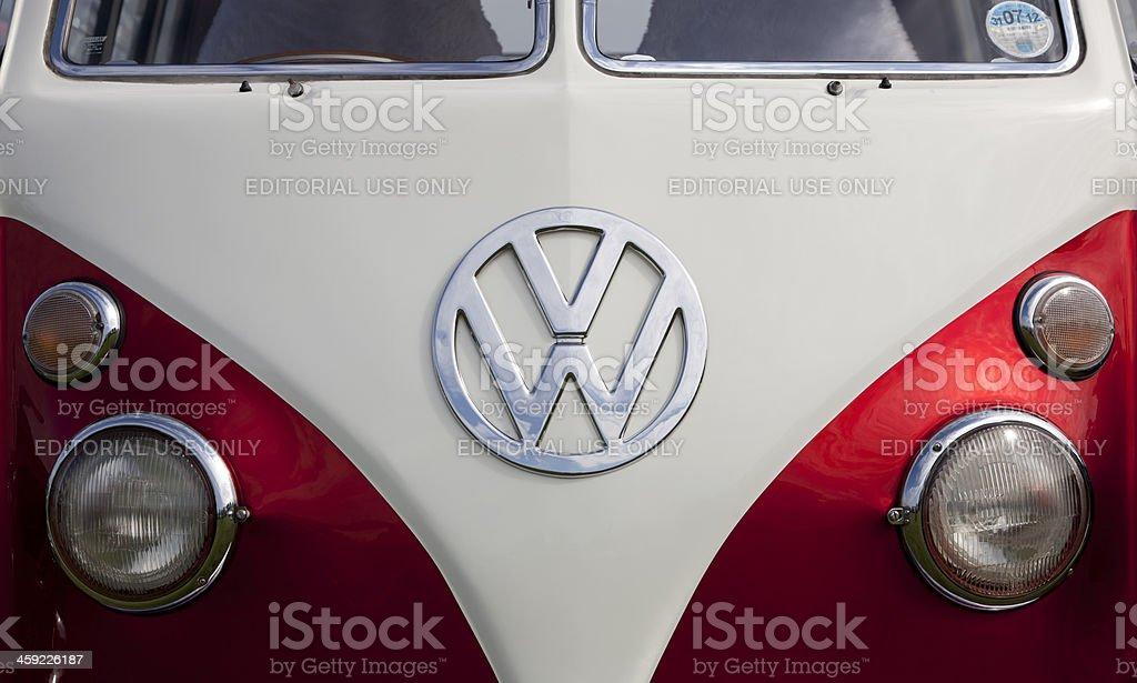 Volkswagon Type 2 Camper (Microbus) royalty-free stock photo