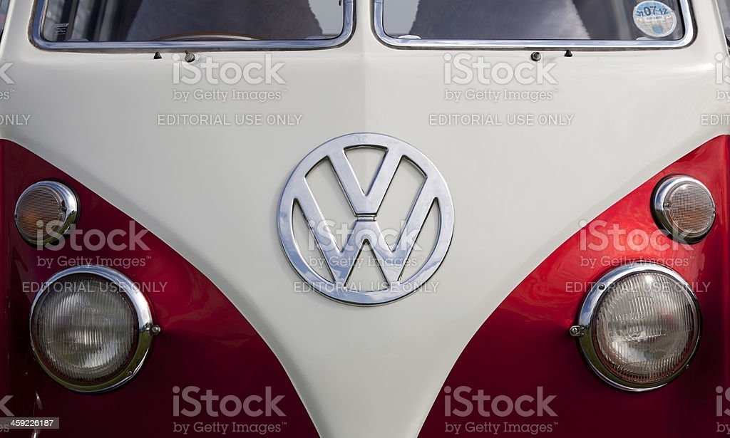 Volkswagon Type 2 Camper (Microbus) stock photo