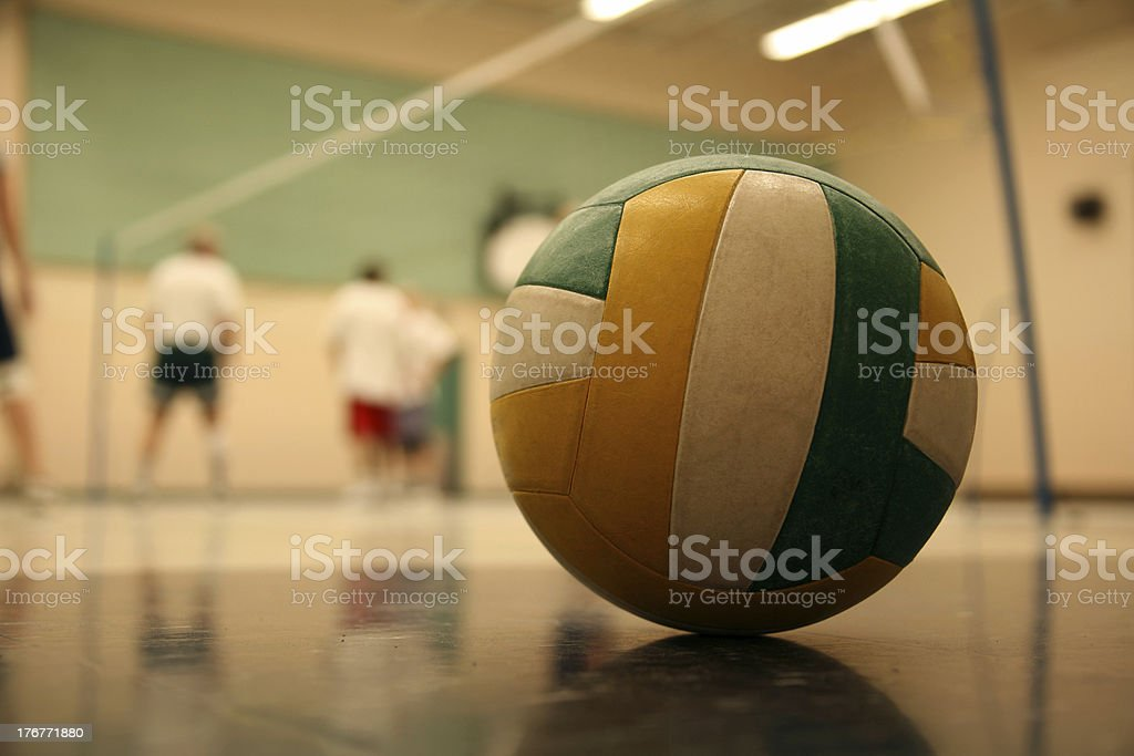 volleyball 002 ball royalty-free stock photo