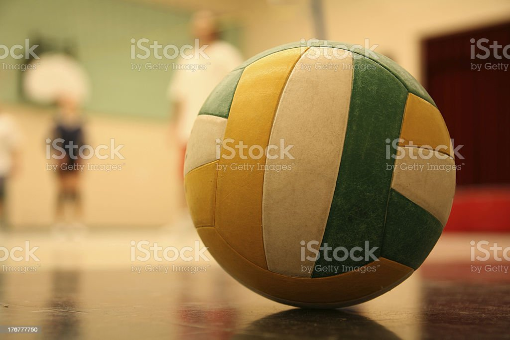 volleyball 003 ball stock photo
