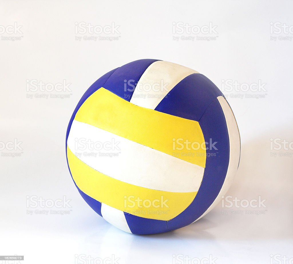 Volleyball ball royalty-free stock photo