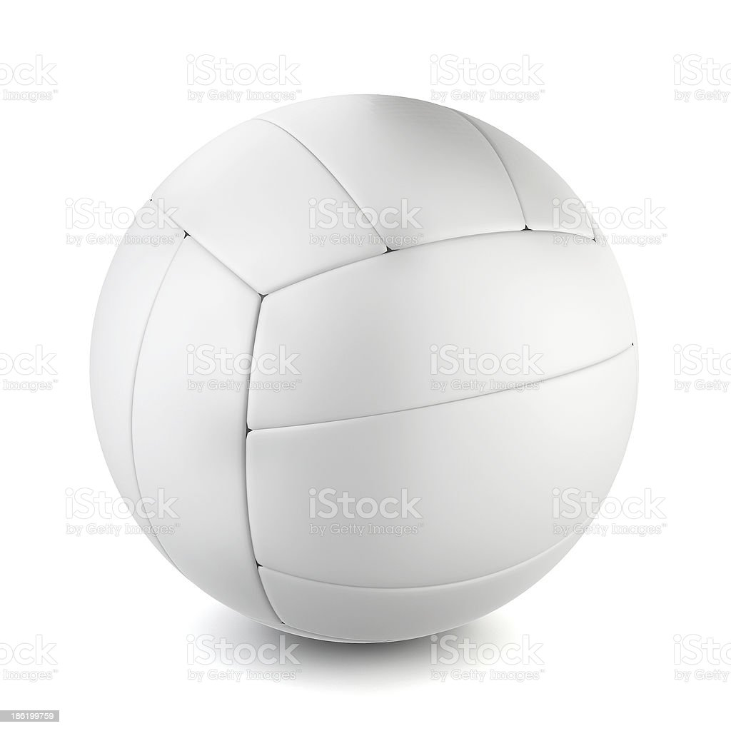 Volleyball' ball royalty-free stock photo