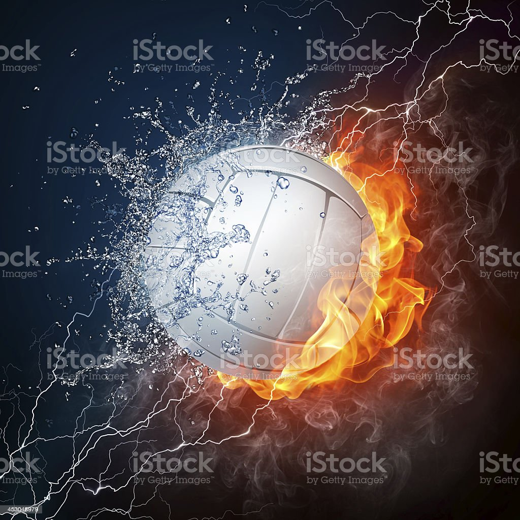 Volleyball Ball stock photo