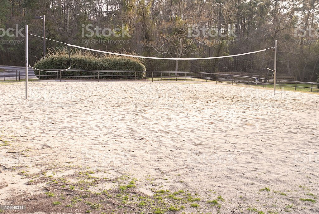 Volleyball Court royalty-free stock photo