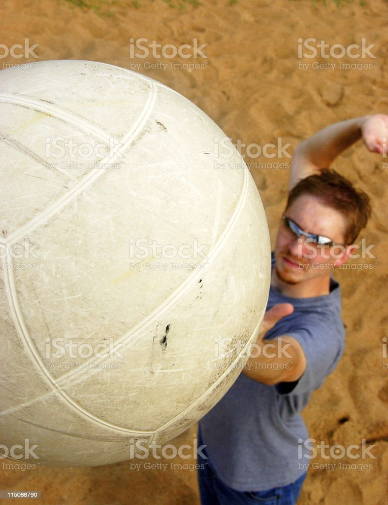 volleyball male athelete portrait royalty-free stock photo