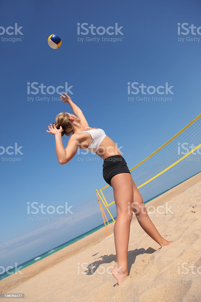 Volley stock photo