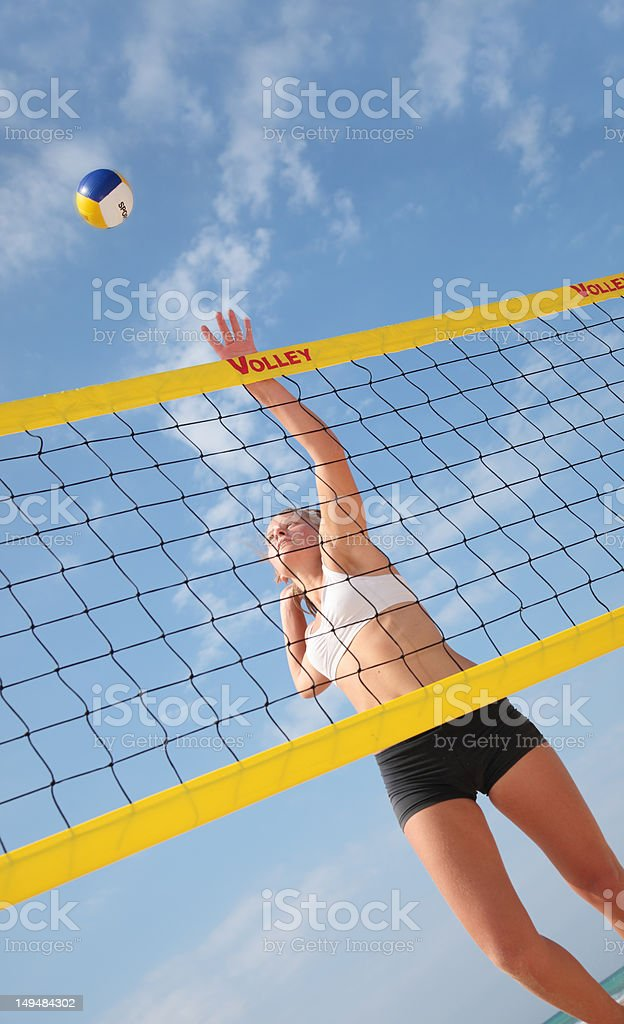Volley royalty-free stock photo