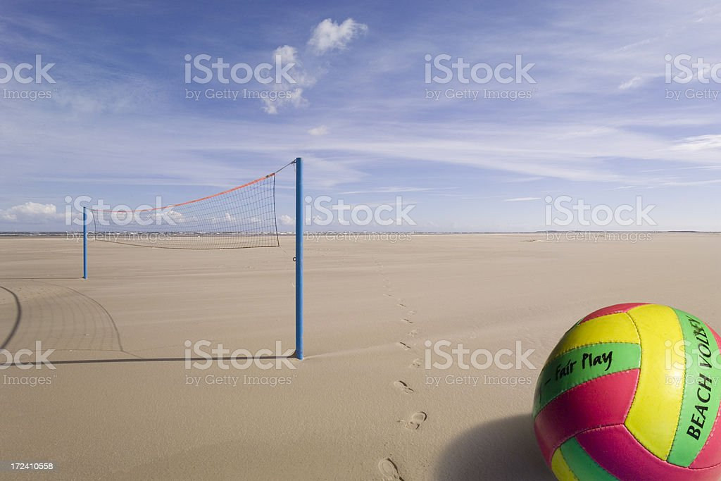 Volleyball  (image size XXL) royalty-free stock photo