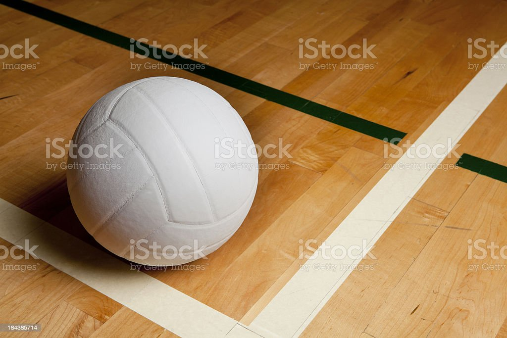 Volleyball stock photo