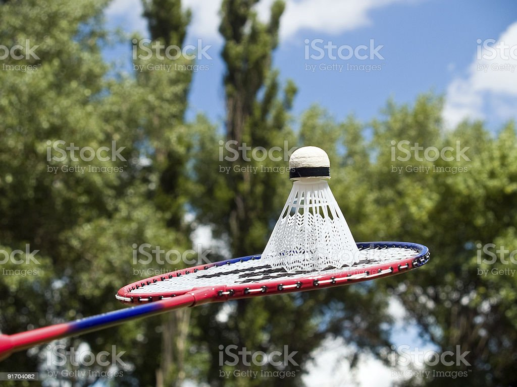 Volleyball racket ready to play royalty-free stock photo