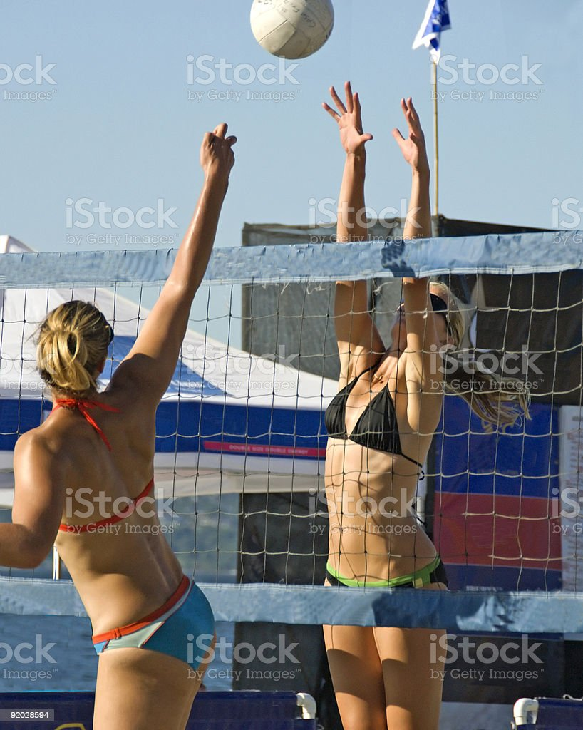 Volleyball Tournament royalty-free stock photo