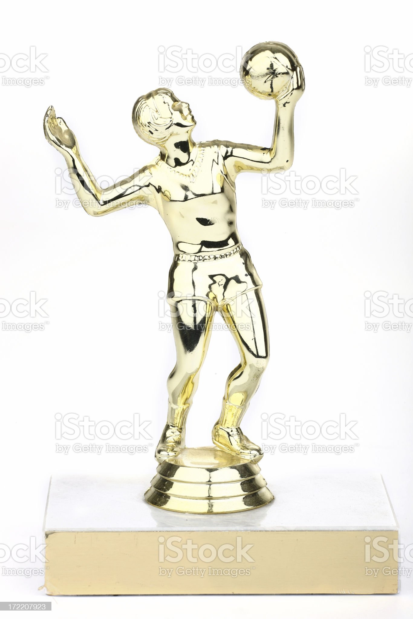 Volleyball Trophy royalty-free stock photo
